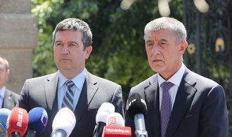 Jednání v Lánech skončilo bez výsledku. Babiš: Stále věřím, že vláda bude pokračovat