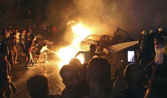 Výbuch v centru Káhiry si vyžádal životy devatenácti lidí a desítky zraněných
