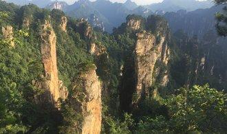 Horalem v Číně. Podívejte se na místa, kde se natáčel Avatar