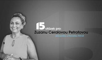 Práce naši rodinu stmeluje, říká ředitelka Petrofu Zuzana Ceralová Petrofová