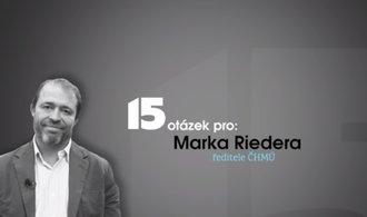 Věřím lidovým pranostikám, říká ředitel ČHMÚ Marek Rieder
