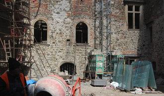 Hrad Helfštýn prochází citlivou rekonstrukcí. Hotovo má být příští rok
