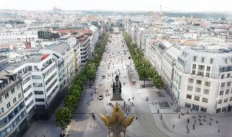 Spodní část Václavského náměstí opraví Hochtief. Praha za revitalizaci zaplatí přes 300 milionů
