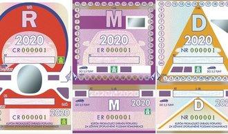 Poslední papírové dálniční známky jsou v prodeji, platí do konce ledna 2021