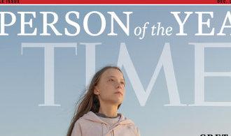 Bojovnice za klima Greta Thunbergová je osobností roku časopisu Time