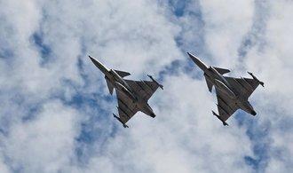 OBRAZEM: Švédské stíhačky. Čeští piloti létají na gripenech již patnáct let