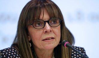 Řecko bude mít první prezidentku. Soudkyně Sakellaropulosová stane v čele úřadu v březnu