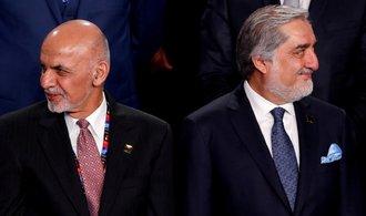 Afghánistán má dva prezidenty. Pozice vlády před jednáním s Tálibánem se komplikuje