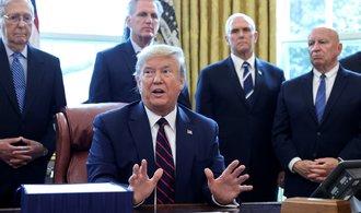"""Přestaneme vám posílat peníze, pohrozil Trump """"pročínské"""" Světové zdravotnické organizaci"""