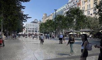 Dolní část Václavského náměstí konečně projde rekonstrukcí za stovky milionů