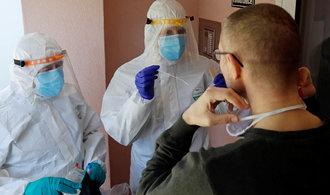 Ústup koronaviru? V neděli přibylo jen 89 nových případů