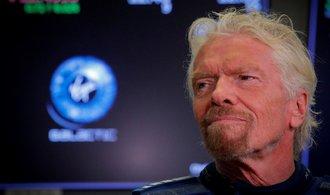 Miliardář Branson žádá britskou vládu o pomoc. Jako záruku nabídl svůj ostrov v Karibiku