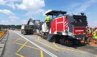 Zdálnice D1 o víkendu zmizí poslední dvě omezení, rekonstrukce pro letošek končí