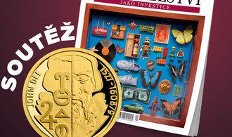 Známe výherce zlatých investičních mincí v soutěži Magazínu E15
