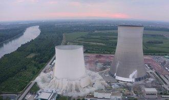 Energiewende v plném proudu: Podívejte se na odpal chladicích věží jaderné elektrárny Philippsburg