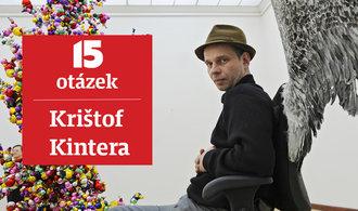 Naučit se dá všechno, stačí píle a trochu ducha, říká umělec Krištof Kintera
