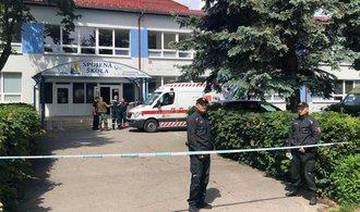 Střelba na slovenské základní škole. Útočníka zabila policie