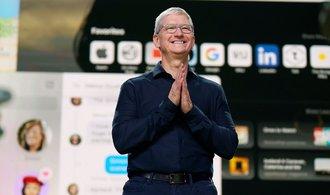 Apple chce do počítačů montovat vlastní čipy. Akcie firmy uzavřely na rekordu