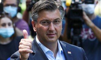 Vítězství v chorvatských volbách obhájil stávající premiér Plenković
