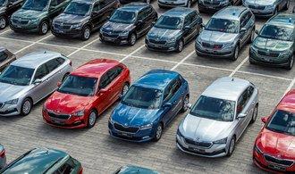 Prodeje osobních aut se do srpna propadly o čtvrtinu