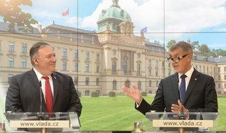 Pompeo: Rusko a Čína by dostavbou Dukovan oslabily bezpečnost Česka