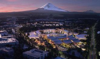 Soběstačné a dokonalé město postaví Toyota u japonské hory Fudži