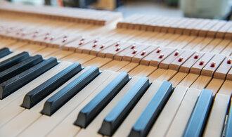 FOTOREPORTÁŽ E15: Podívejte se, jak se vyrábějí slavné klavíry Petrof
