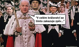 OBRAZEM: Prymulův zákaz zpěvu dál baví český internet