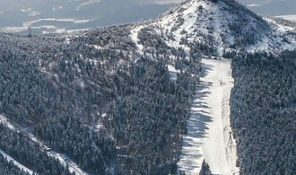 The new ski slope on Ještěd is ready.  It will start operating before Christmas Day