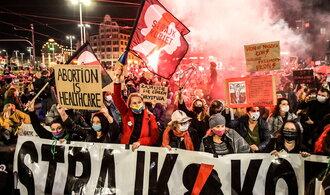 Středoevropští konzervativci chtějí méně interrupcí. V Polsku chystají další demonstraci