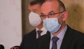 Ministr zdravotnictví Blatný chce změnit strach z koronaviru v respekt
