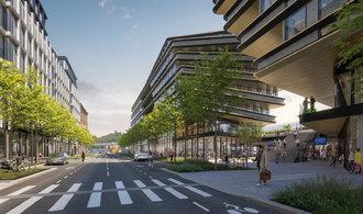 Penta pozměnila projekt Zahy Hadidové v Praze u Masarykova nádraží