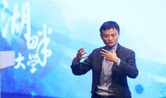 Čínský miliardář Jack Ma zmizel z veřejného života. Podle CNBC je ale v pořádku