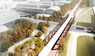 Park na kolejích. Místo staré benešovské trati vznikne koridor pro chodce a cyklisty