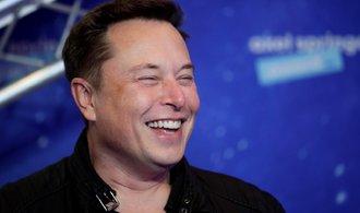 Musk se veze na vlně růstu akcií Tesly, stal se nejbohatším člověkem světa