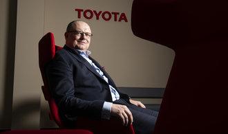 Ceny aut půjdou nahoru. Postupně, ne přes noc, říká šéf českého zastoupení Toyoty