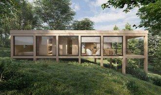 FOTO: El número de edificios de madera está aumentando.  La gente quiere vivir rápido y ecológicamente.