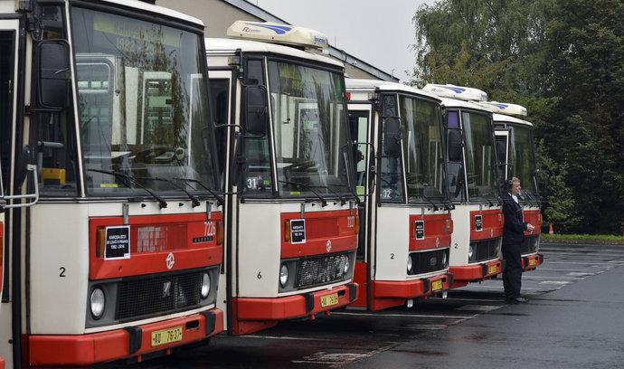 Řidiči autobusů v Ústeckém kraji budou stávkovat, vadí jim nízké mzdy