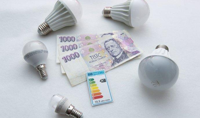 Led žárovky - úspora energie a finančních prostředků