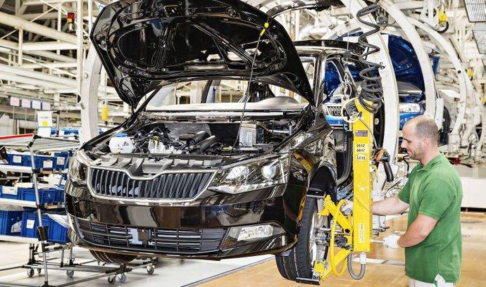 Tržby autoprůmyslu prudce rostly, přesáhly bilion korun