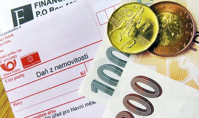 Termín pro úhradu daně z nemovitosti se blíží