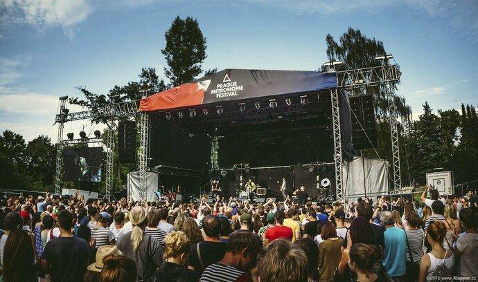 Festival Metronome očekává vyšší zájem hudebních fanoušků