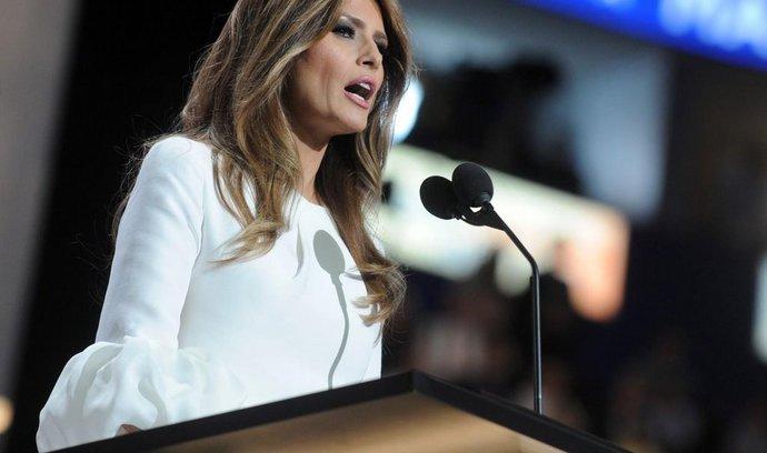 Trumpova žena Melania dostane odškodné za nepravdivý článek