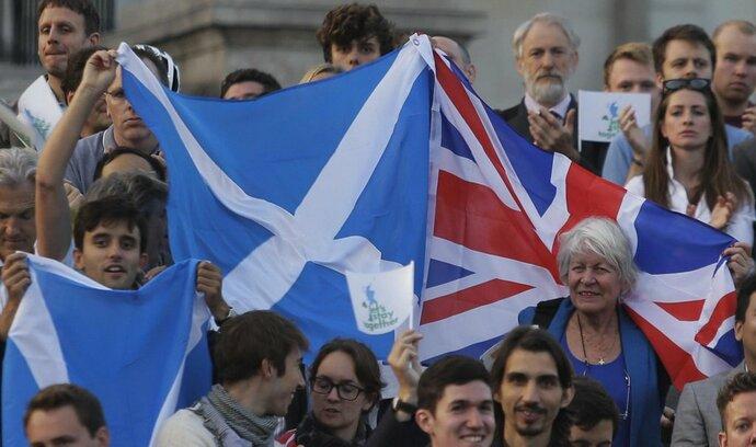 Skotsko má prý právo na referendum, pokud Británie vystoupí z EU