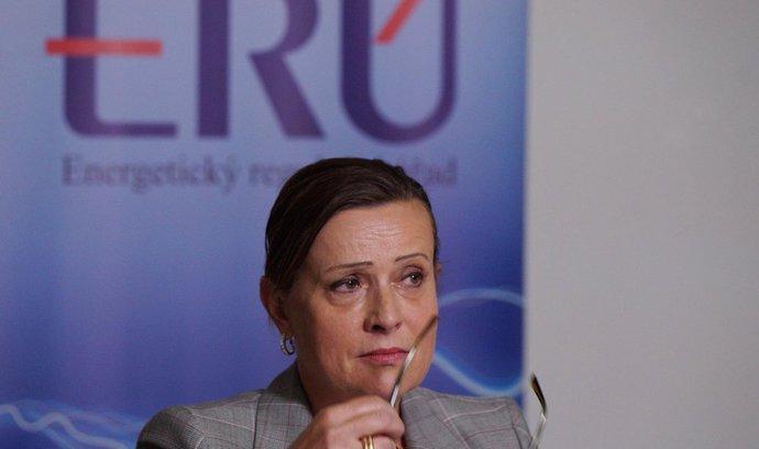 Předsedkyně Energetického regulačního úřadu Vitásková: Solární baroni notifikaci mají. My ne