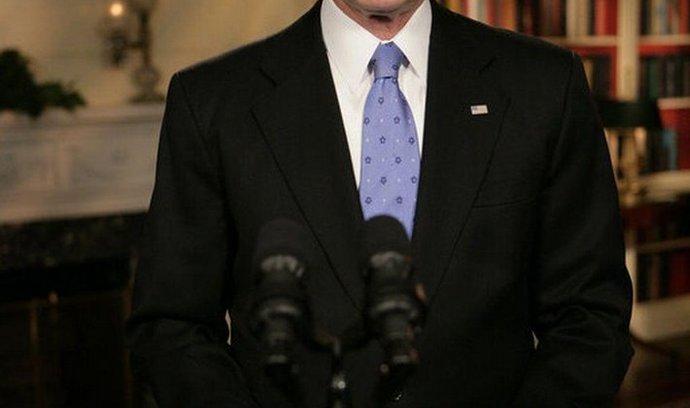 Exprezident Bush: Světu likvidace Saddáma prospěla