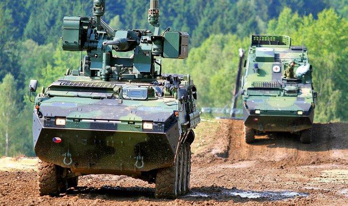 Obrana před volbami nakoupí munici pro Pandury bez výběrového řízení. Má jí přitom dostatek