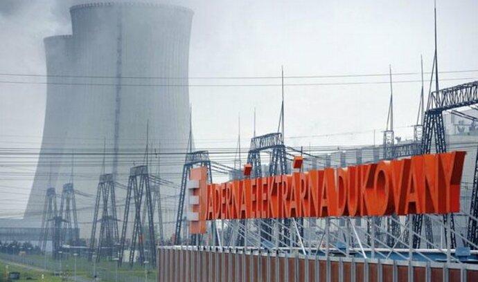 Dukovany plánují spuštění odstavených bloků, ztráty počítají na miliardy