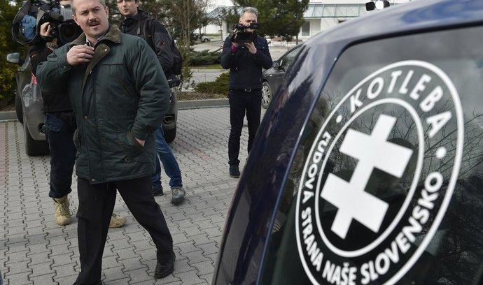 Slovenská prokuratura podala návrh na rozpuštění Kotlebovy strany