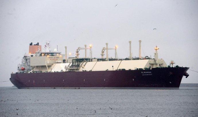 Do Polska dorazil první tanker se zkapalněným zemním plynem